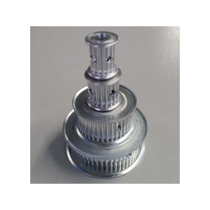 38 Teeth HTD-3M timing pulley 15mm wide.