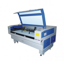 1600 x 1000mm Double Head Laser cutting and engraving machine with fixed table.