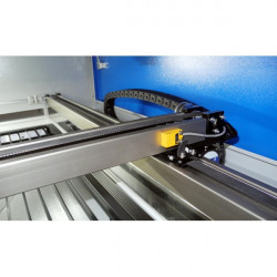 Double head laser cutting and engraving machine.  The difference between the single head and double is tht the double...