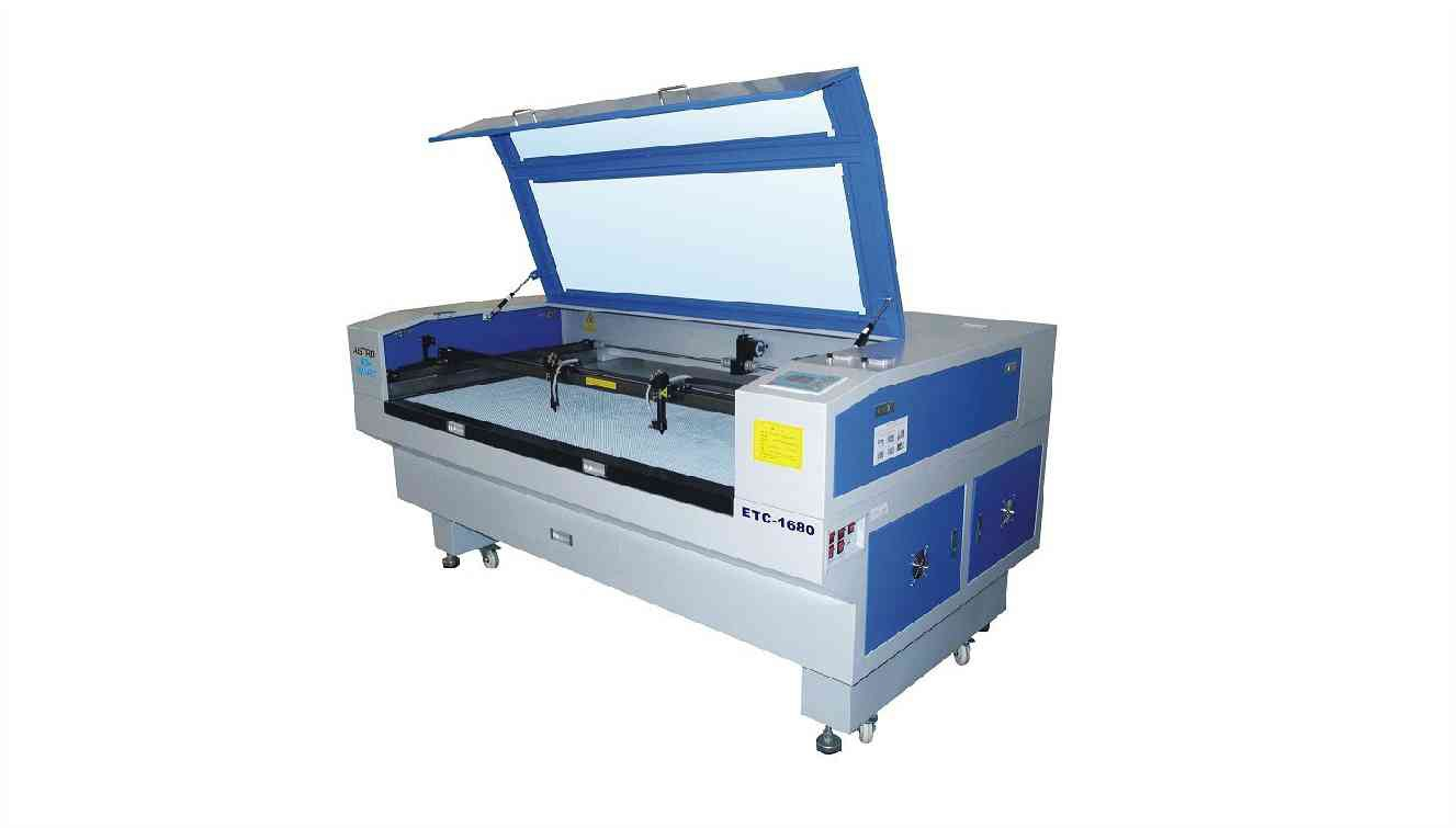 Fixed table laser machine